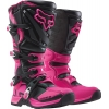 Fox Racing Women's Comp 5 Stiefel Black-Pink Ladies 2016-2018