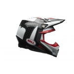 Bell Moto-9 Carbon Flex Helm Vice black/white 2017