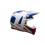 Bell Moto-9 Carbon Flex Helm Vice blue/red 2017