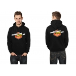Motocross-Shop.de Hoody Black Orange