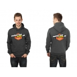 Motocross-Shop.de Hoody Charcoal Orange