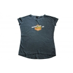 Motocross-Shop.de Ladies T-Shirt Charcoal Orange