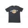 Motocross-Shop.de T-Shirt Charcoal Orange