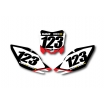Numberplate-Decals Honda - Team Motocross-Shop.de