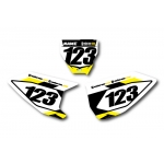 Numberplate-Decals Husqvarna - Team Motocross-Shop.de