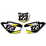 Numberplate-Decals Suzuki - Team Motocross-Shop.de