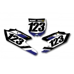 Numberplate-Decals Yamaha - Team Motocross-Shop.de