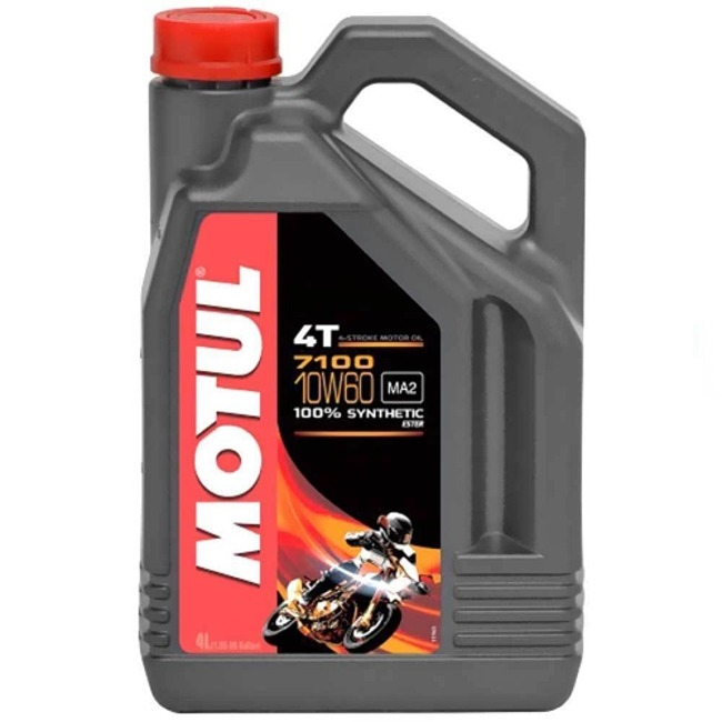 motul 4 takt l 7100 10w 60 4 liter viertakt le motocross shop. Black Bedroom Furniture Sets. Home Design Ideas