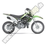 One Industries Monster Energy Complete-Graphic-Kit Kawasaki KX 65 02-12