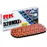RK-Takasago Chain 520 MXZ4 orange