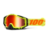 100% Racecraft Goggle Neon Attack Mirror 2016