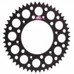 Renthal GP Rear Sprocket Alu Honda CR 125R-500R 83-07, CRF 150F 03-14, 250R/X/RX 04-, 450R/X/RX 02- (520) *Ultralight* black
