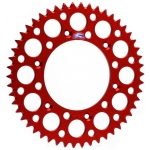 Renthal GP Rear Sprocket Alu Honda CR 125R-500R 83-07, CRF 150F 03-09+12-17, 250R/X/RX 04-, 450R/X/RX 02- (520) *Ultralight* red