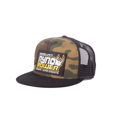 Ryno Power Camo Hat Mesh
