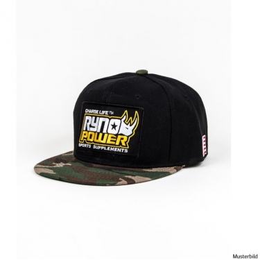 Ryno Power Black Hat – Camo Bill