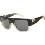 Fox Sonnenbrille The Decorum Matte Black To Clear Fage Grey