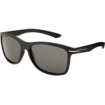 Fox Eyewear Double Deuce Matte Black Grey Polarized