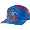 Fox Racing Stepped Up Flexfit Hat Blue Spring 2016