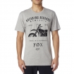 Fox Racing Boxed Out T-Shirt Heather Grey Spring 2016