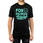 Fox Racing Scripted T-Shirt Black # SALE