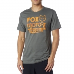 Fox Racing Scripted T-Shirt Military # SALE