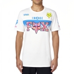Fox Racing Daytona T-Shirt White # SALE