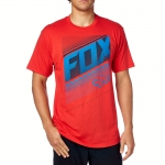 Fox Racing Static T-Shirt Red # SALE