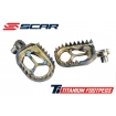 Scar Titanium Footpegs Honda CR/CRF 02-16