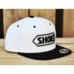 Shoei Basecap white/black