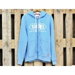 Shoei Zip Hoody blau