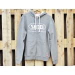 Shoei Zip Hoody grau