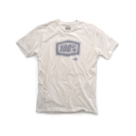 100% T-Shirt Static White