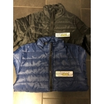 Steppjacke mit Motocross-Shop-Patch