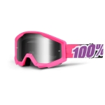 100% Strata Goggle Bubble Gum Mirror 2014