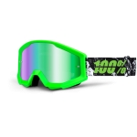 100% Strata Goggle Crafty Lime Mirror 2014