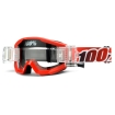 100% Strata Roll Off Goggle Fire Red - Speedlab Vision System