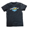 Motocross-Shop.de T-Shirt Charcoal Cyan