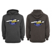 Motocross-Shop.de Hoody Black-Melange Blue