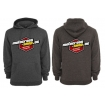 Motocross-Shop.de Hoody Black-Melange Red