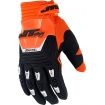 JT Racing Throttle Gloves Black-Orange 2015