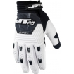 JT Racing Throttle Gloves Black-White 2015