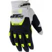 JT Racing Throttle Gloves Black-Grey Yellow Fluo 2015