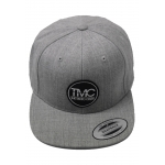 The Moto Crew Snapback Main Circle Grey