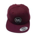The Moto Crew Snapback Main Circle Maroon