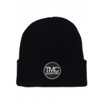 The Moto CreBeanie Main Circle Black