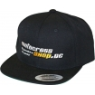 Teamhat Black Snapback