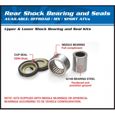 All Balls Shock Bearing Kit Honda