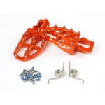 ZAP TechniX E-Peg Footpegs KTM, Husqvarna orange