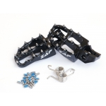ZAP TechniX E-Peg Footpegs KTM, Husqvarna 16-black