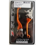 Zeta Pivot Folding Lever Set FP KTM SX/EXC 09-13, SX-F 09-12 orange